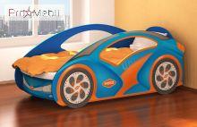 Кровать-машинка KM-420 Индиго Эдисан
