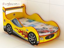Кровать-машинка KM-380 Taxi Эдисан