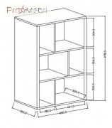 Шкафчик навесной 04 Widin Helvetia