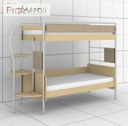 Двухъярусная кровать DJ-L-02 90 Эдисан