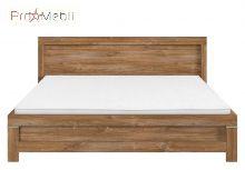 Кровать LOZ/160 Gent BRW