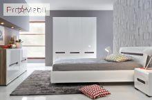 Кровать Ацтека LOZ/180 белая БРВ