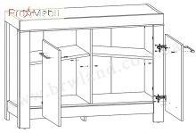 Тумба SFK2D/9/12 Gent BRW dub stirling