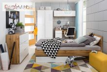 Кровать Злата LOZ/90 BRW