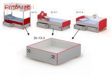 Выдвижная кровать ниша Dr-13-3 Driver Briz