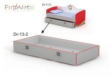 Выдвижная кровать ниша Dr-13-2 Driver Briz