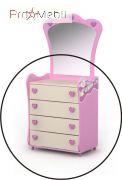 Комод Pn-06 Pink Briz