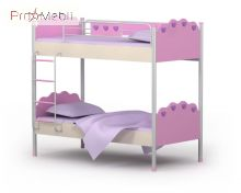 Двухъярусная кровать Pn-12 Pink Briz