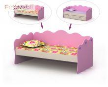 Кровать-диван Pn-11-3 Pink Briz