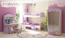 Кровать стол Pn-16-1 Pink Briz