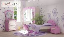 Кровать стол Pn-16-2 Pink Briz