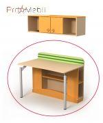 Письменный стол Bs-08-2 Active Briz