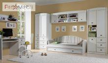 Кровать-диван LOZ80 бежевый Салерно Gerbor