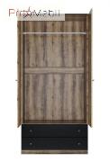 Комплект полок для 2-дверного шкафа 2D2S Jagger Mebel Bos