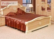 Кровать 160 Венеция яблоня светлая Світ Меблів