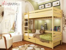 Двухъярусная кровать Дуэт 90x190 Эстелла