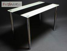 Кухонный стол Вектор черно/белый БЦ-стол