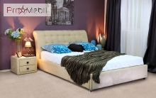 Кровать c подъемным механизмом Кофе - тайм 180x200 Карамель Embawood