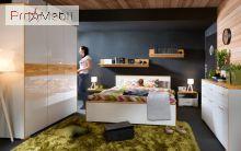Кровать LOZ/160 Bari BRW