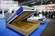 Кровать с подъемным механизмом 140x200 Олмо TQ Project