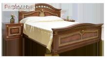 Кровать 2-сп Диана Світ Меблів